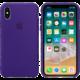 Apple silikonový kryt na iPhone X, tmavě fialová  + Voucher až na 3 měsíce HBO GO jako dárek (max 1 ks na objednávku)