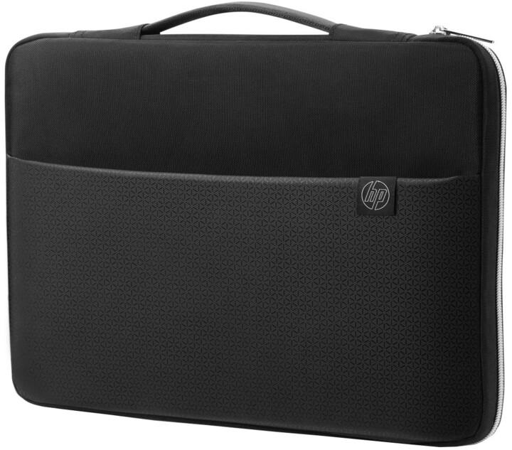 HP 15,6'' carry sleeve černá/stříbrná