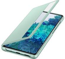 Samsung flipové pouzdro Clear View pro Galaxy S20 FE, světle zelená - EF-ZG780CMEGEE
