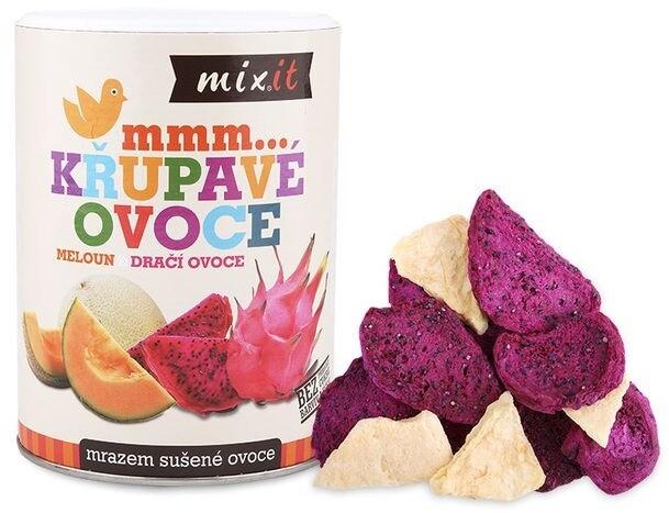 Mixit křupavé ovoce - dračí ovoce/meloun, 80g