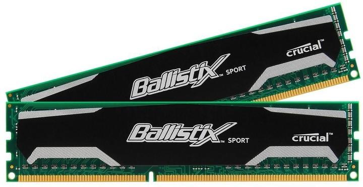 Crucial Ballistix Sport 8GB (2x4GB) DDR3 1600 CL9