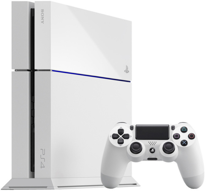 PlayStation 4, 500GB, bílá
