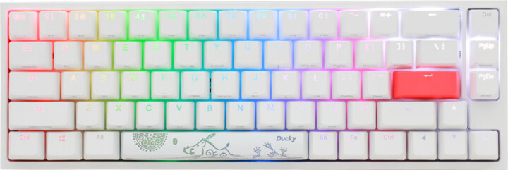 Ducky One 2 SF, Cherry MX Silent Red, US
