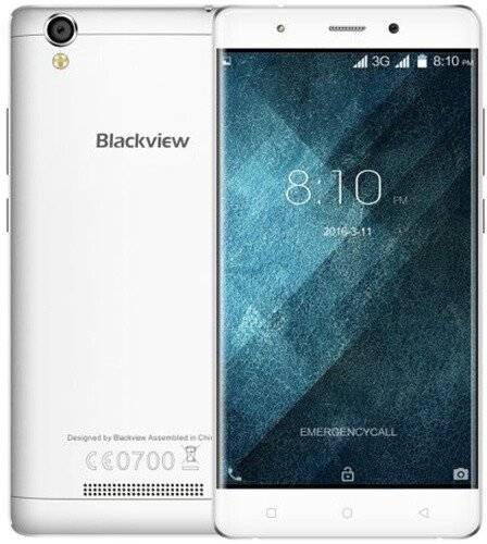 iGET BLACKVIEW A8 - 8GB, Dual SIM, bílá