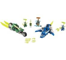 LEGO® Ninjago 71709 Rychlá jízda s Jayem a Lloydem