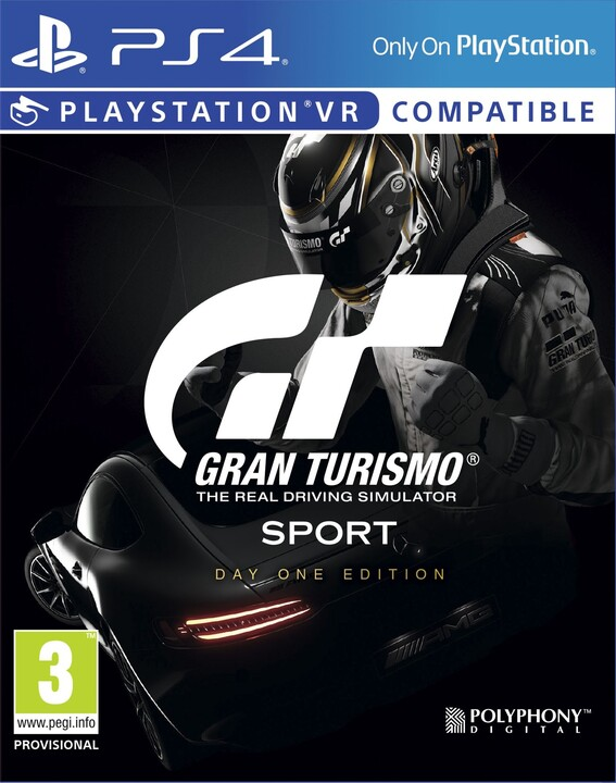 Gran Turismo Sport - Day One Edition (PS4)