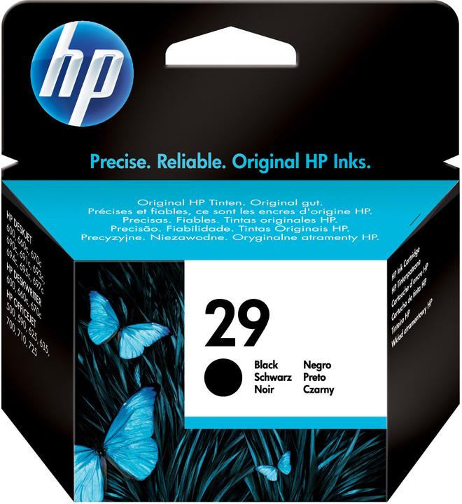 HP 51629A, no.29, černá