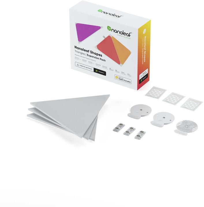 Nanoleaf Shapes Triangles Expansion Pack 3 Pack