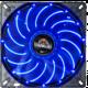 Enermax T.B.Apollish UCTA14N-BL, 140mm LED, modrá