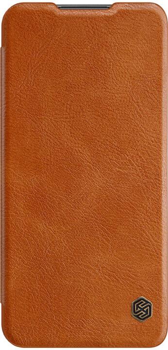 Nillkin pouzdro Qin Book Pouzdro pro Xiaomi Redmi 9, hnědá