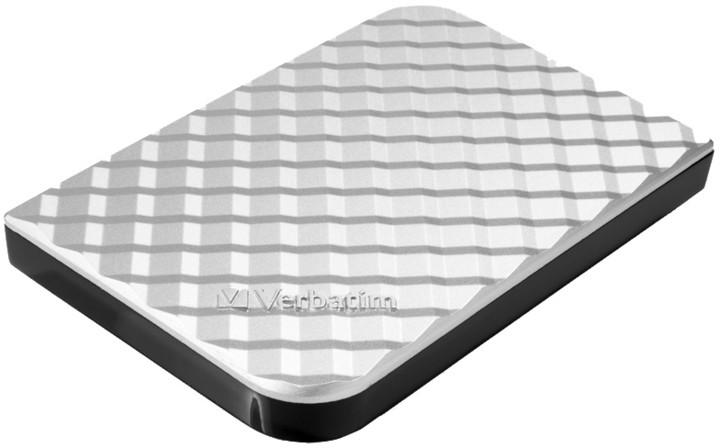 Verbatim Store'n'Go - 500GB, stříbrná