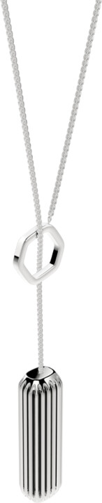 Fitbit Flex 2 Accessory Pendant (Metal neckless), stříbrná