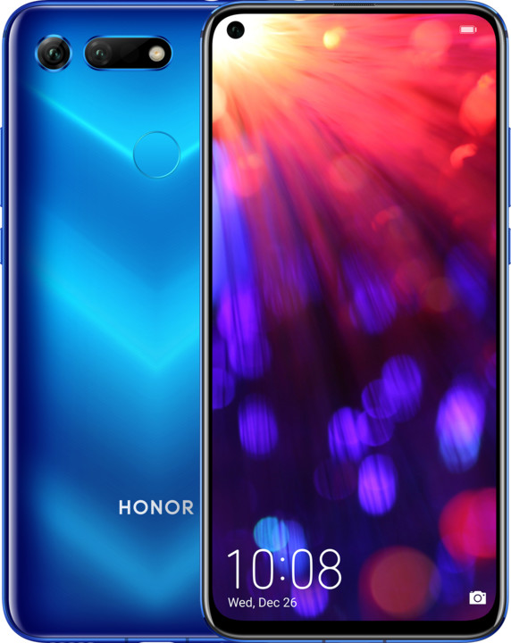 Honor View 20, 6GB/128GB, modrá
