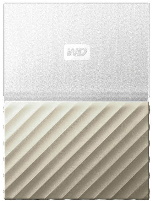 WD My Passport Ultra Metal - 3TB, White/Gold