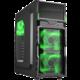 Sharkoon VG5-W, černo-zelená  + Voucher až na 3 měsíce HBO GO jako dárek (max 1 ks na objednávku)