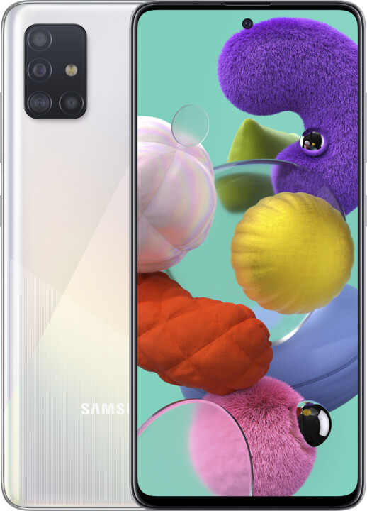 Samsung Galaxy A51, 4GB/128GB, White