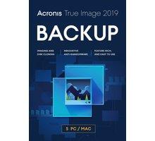 Acronis True Image 2019 ESD CZ pro 5 PC - TI52L1LOS