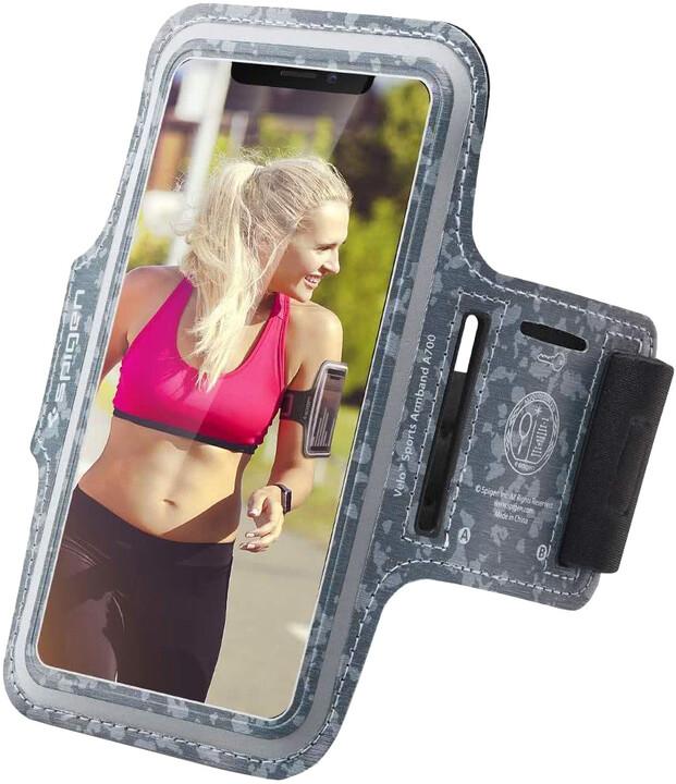"""Spigen sportovní pouzdro Velo A700 pro smartphone 6"""", camo"""