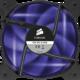 Corsair Air Series AF120 Quiet LED Purple Edition, 120mm. 2ks