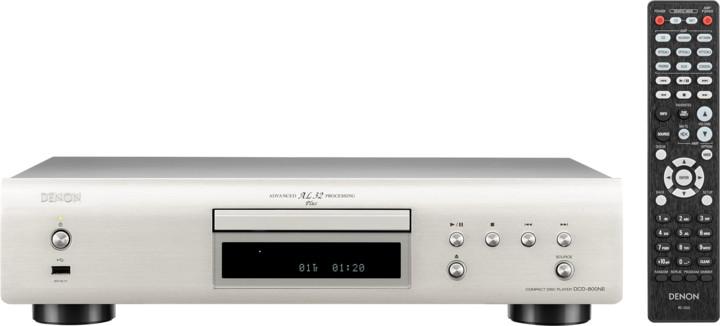 Denon DCD-800NE, stříbrná
