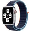 Apple řemínek pro Watch Series, provlékací sportovní, 40mm, tmavě modrá