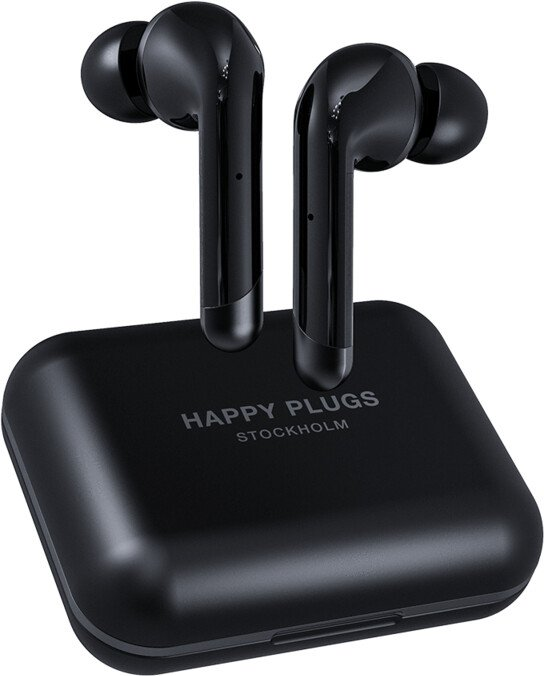 Happy Plugs Air 1 Plus In-Ear, černá