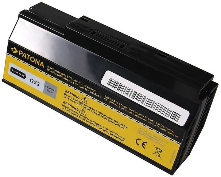 Patona baterie pro ntb ASUS G53/G73 4400mAh Li-Ion 14,8V A42-G53