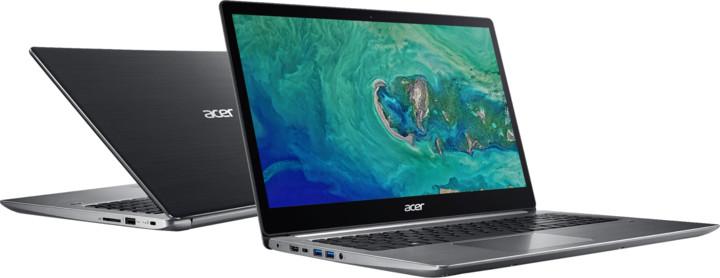 Acer Swift 3 celokovový (SF315-51-56XV), šedá