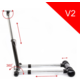 Wheel Stand Pro for Thrustmaster F458 SPIDER/ T80 /T100 /F458 /F430 Wheels V2, černý