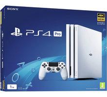 PlayStation 4 Pro, 1TB, Gamma chassis, bílá - PS719790914