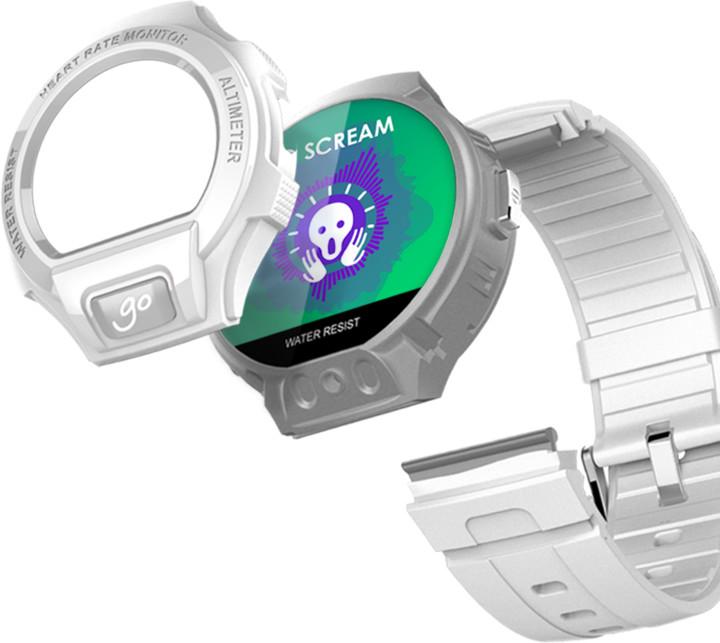 Посмотрите на дизайн onetouch watch go, и вы поймете, где дизайнеры черпали свое вдохновение.