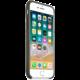 Apple silikonový kryt na iPhone 8/7, tmavě olivová