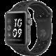 Apple Watch series 3 38mm NIKE+ pouzdro vesmírně šedá/černý řemínek  + Nike batoh Sportswear Elemental modrý (v ceně 799 Kč)