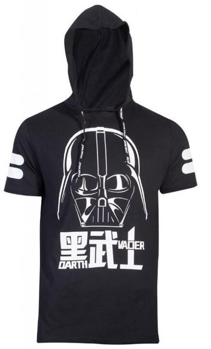 Tričko Star Wars - Darth Vader, s kapucí (M)
