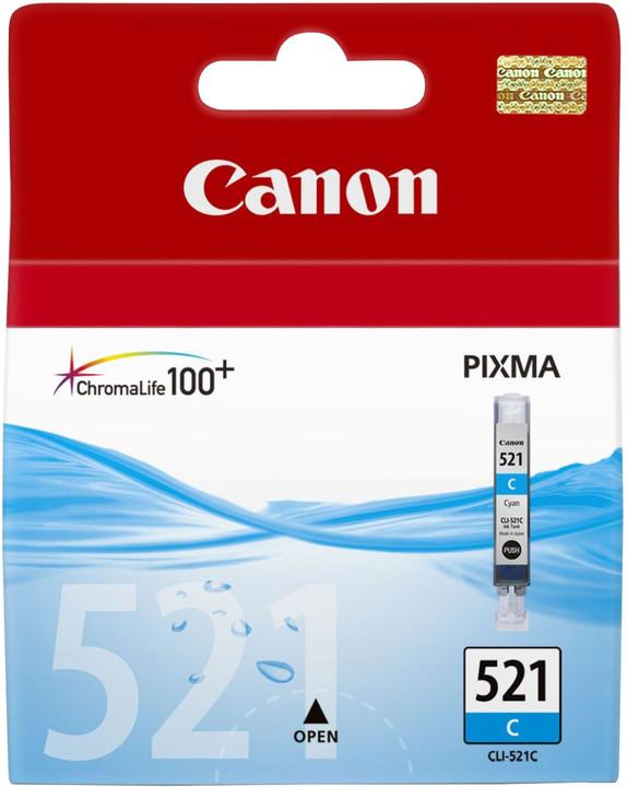 Canon CLI-521 C, azurová