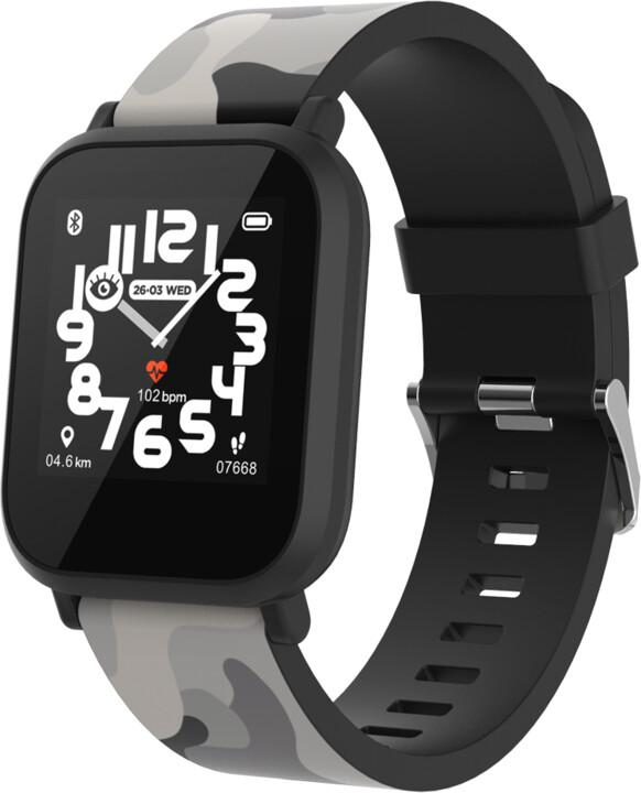 CANYON chytré hodinky My Dino KW-33, Black
