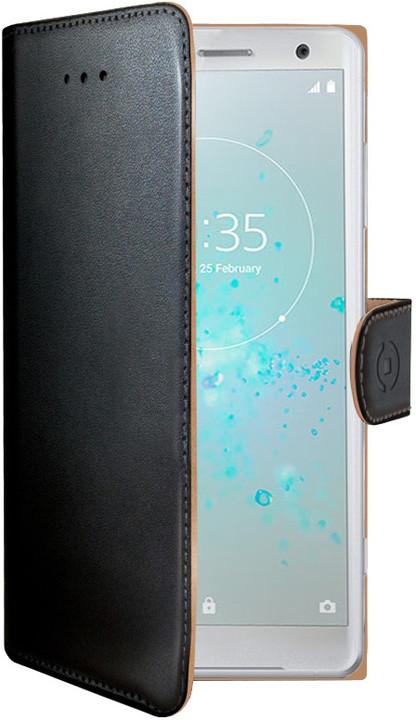 CELLY Wally pouzdro typu kniha pro Sony Xperia XZ2 Compact, černé