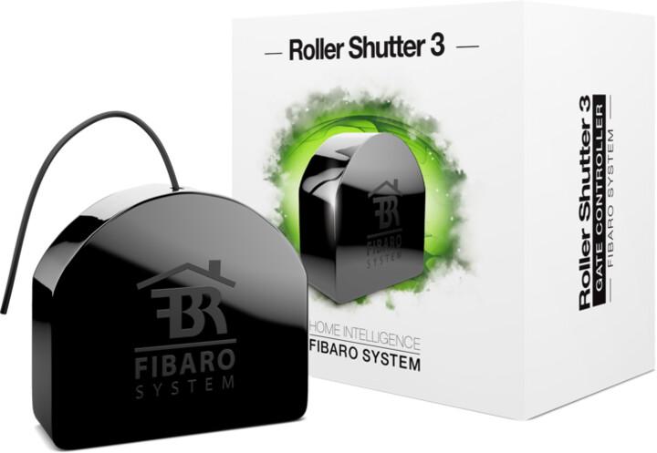 FIBARO žaluziový modul 3, Z-Wave Plus (vestavný modul)