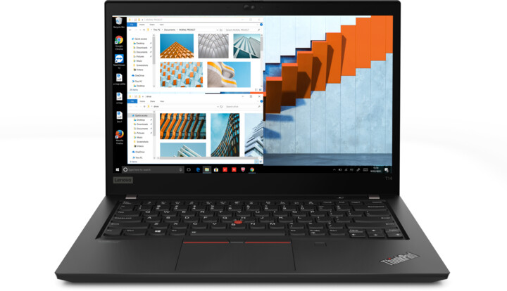 Lenovo ThinkPad T14 Gen 2 (AMD), černá