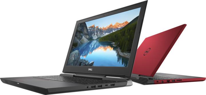 Dell G5 15 Gaming (5587), červená