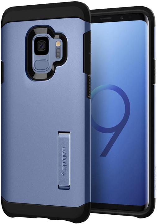 Spigen Tough Armor pro Samsung Galaxy S9, coral blue