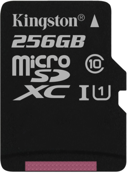 Kingston Micro SDXC Canvas Select 256GB 80MB/s UHS-I