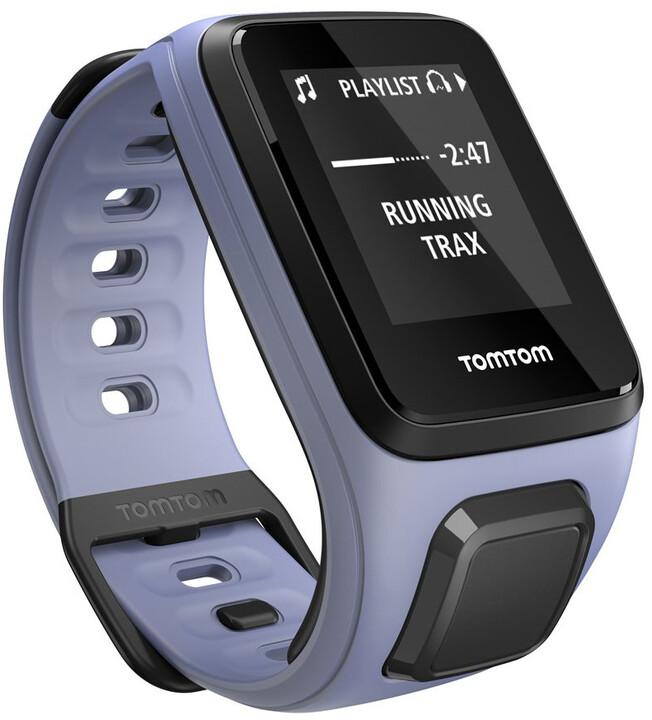 TOMTOM Spark Fitness (S), fialová