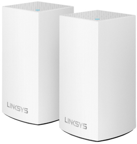 Linksys Velop Whole Home Intelligent Mesh WiFi System, Dual-Band, 2ks