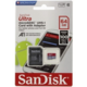 SanDisk Micro SDXC Ultra Android 64GB 100MB/s A1 UHS-I + SD adaptér