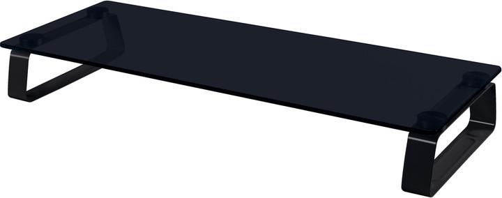 CONNECT IT multifunkční skleněný podstavec pod LCD, černý