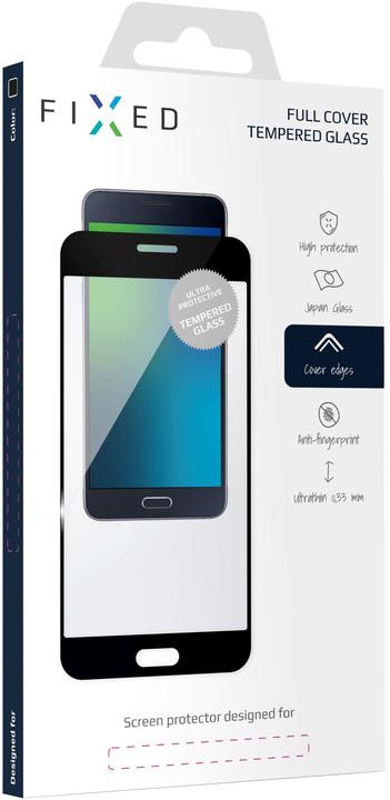 FIXED Ochranné tvrzené sklo Full-Cover pro Sony Xperia XZ2, černé