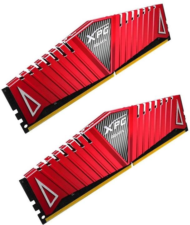 ADATA XPG Z1 16GB (2x8GB) DDR4 2400, červená