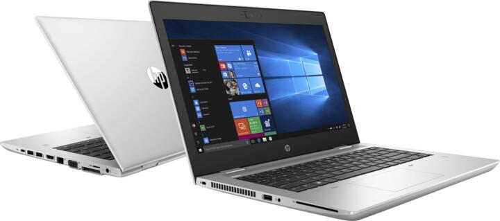 HP ProBook 640 G5, stříbrná