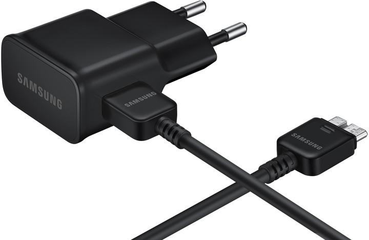 Samsung nabíječka EP-TA12EBEQ, USB 3.0, 2 A, černá